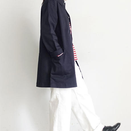 ichi 200519 CLEANSE  Chino Jacket / C : NAVY