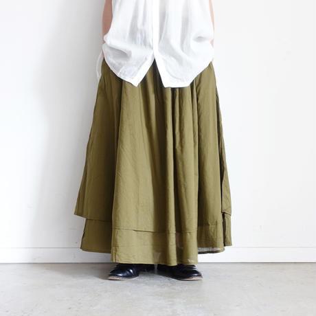 ichi 201203 Layered Skirt / 2 COLORS