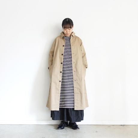 ichi 200520 CLEANSE Chino Coat / A : BEIGE