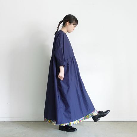 ichi 201102 / Typewriter One Piece / E : NAVY