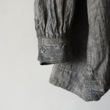 ichiAntiquités 600936 Natural Handdye Stripes Pullover / SUMI