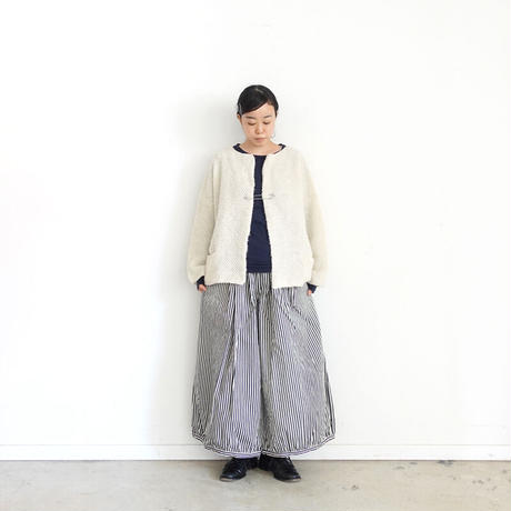 ichi 190942 Denim Balloon Pants / A : HICKORY