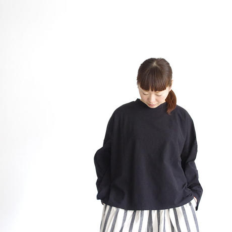 i c h i 180764 Cotton Pullover / Black