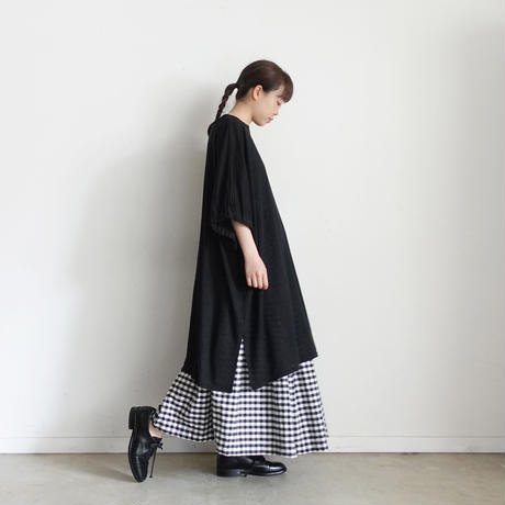ichi 201250 Linen Long Pullover / 3 COLORS