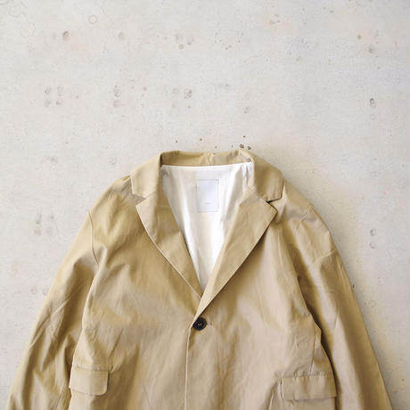 i c h i 181032 Cotton Chino Jacket / Beige