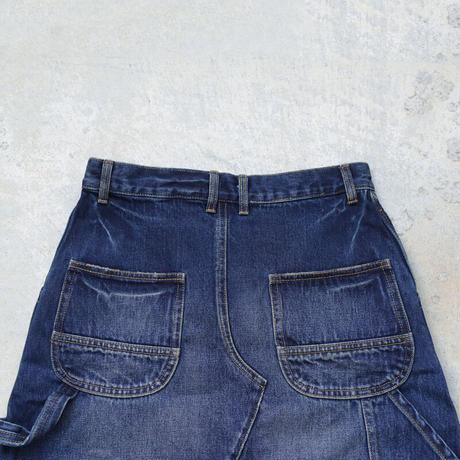 ichi 201142 Denim Skirt / B : DARK・2 SIZE