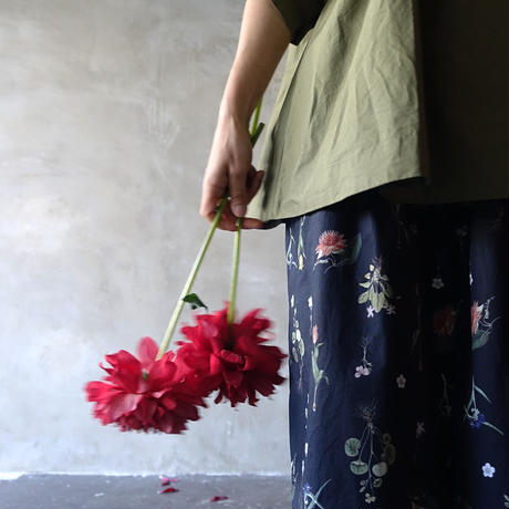 """LIMITED COLLECTION"" i c h i 201235 Botanical Flower Pants / 2 COLORS"
