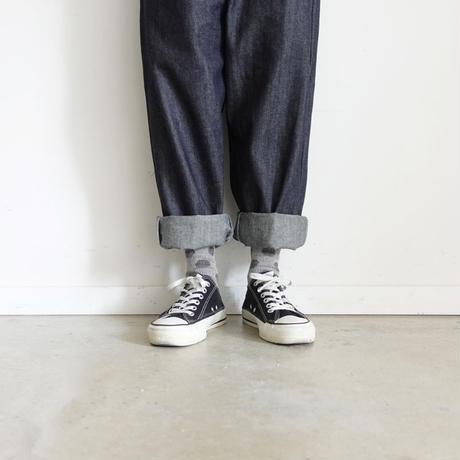 Loiter L021  Cotton Rib Dot Socks / 3 COLOES