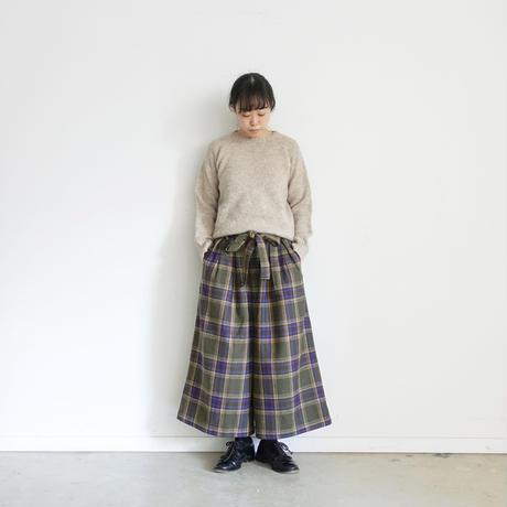 ichi 200728 Check Pants / 2 COLORS