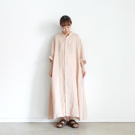 ichi 210124 Linen Shirt One Piece / 3 COLORS