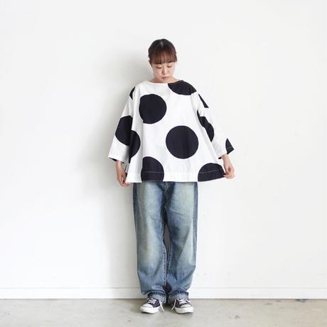 ichi 210107 Big Dot Pullover / 2 COLORS