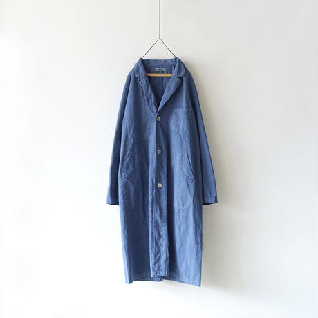 ichiAntiquités 500102 Selvage Cotton Atelier Coat / NAVY