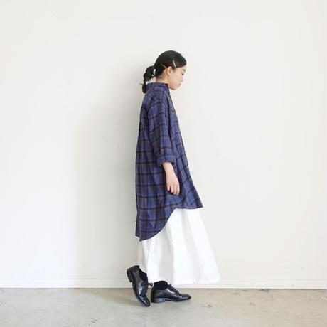 ichi 200617 Check Long Shirt / 2 COLORS