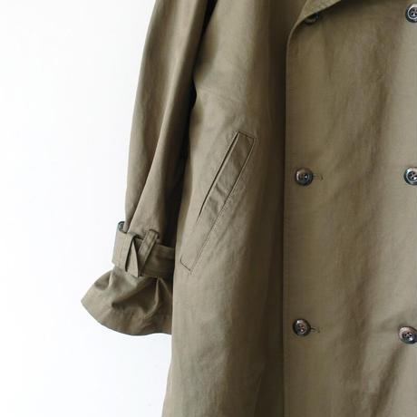 ichi 210423 Trench Coat / B : OLIVE