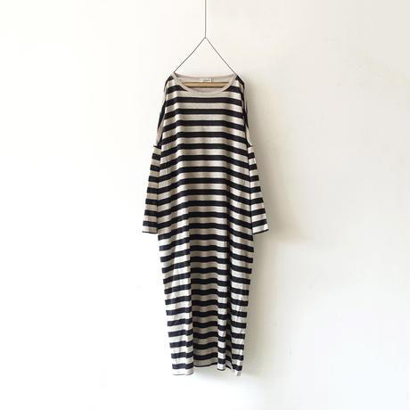 ichiAntiquités 500357 Linen Dress / BORDER