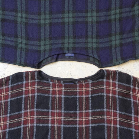 ichi 200507 Wool Gauze Check One Piece / 2 COLORS