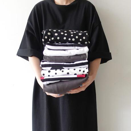 ichi 210141 T-shirt One Piece / D : BLACK