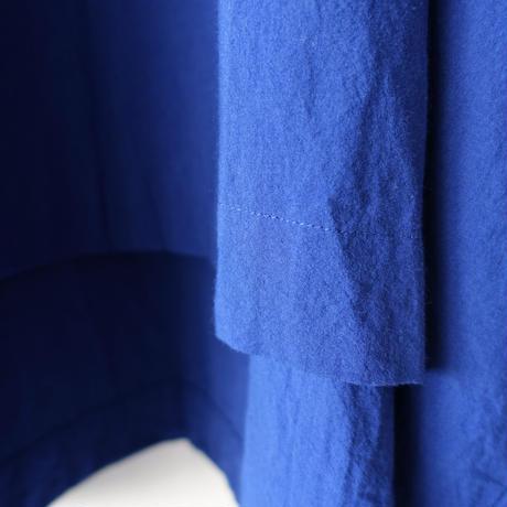 ichiAntiquités 601230 Cotton AZUMADAKI Over Blouse / C : BLUE