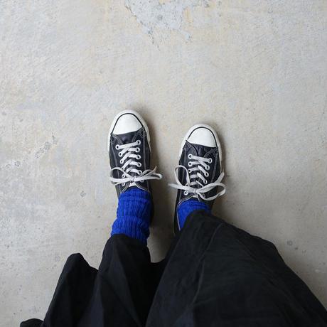 【ONLINE LIMITED COLOR】LOITER L019 Linen Color Rib Socks / 2 COLORS