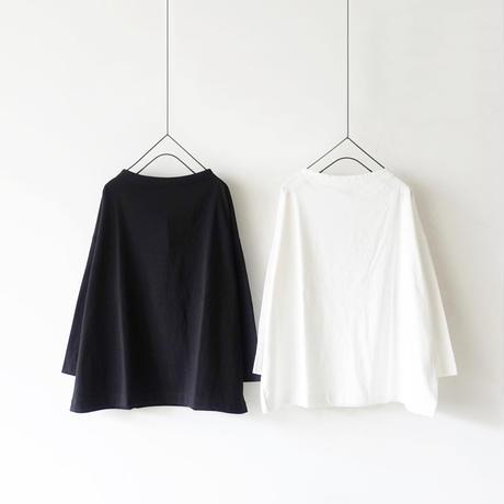 ichi 190442 Cotton Pullover / BLACK