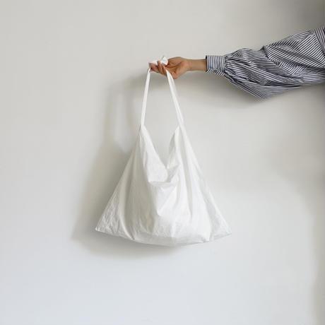 【ONLINE LIMITED】ichiAntiquités 600939 Cotton STRIPES Relax Pants + BAG / A : WHITE × BLACK