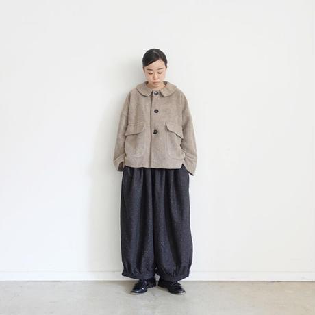 ichi 200437 Balloon Pants / B : BLACK