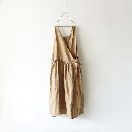 ichiAntiquités 100929 Linen Chino 2way Dress / BEIGE