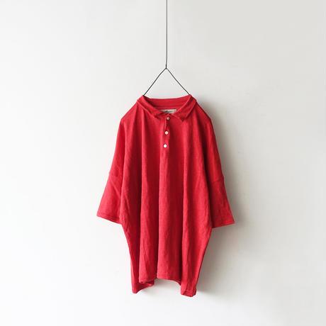 ichiAntiquités 100951 Linen Big POLO / RED
