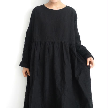 ichiAntiquités 500106 Linen Dress / BLACK