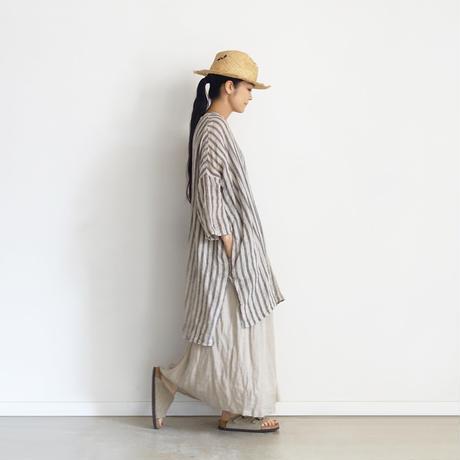 ichiAntiquités 601218  Linen Skirt / 3 COLORS
