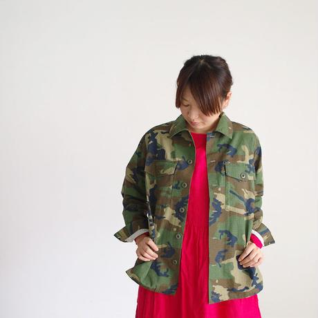 i c h i 180539 Rip Stop Jacket / Camouflage Dark