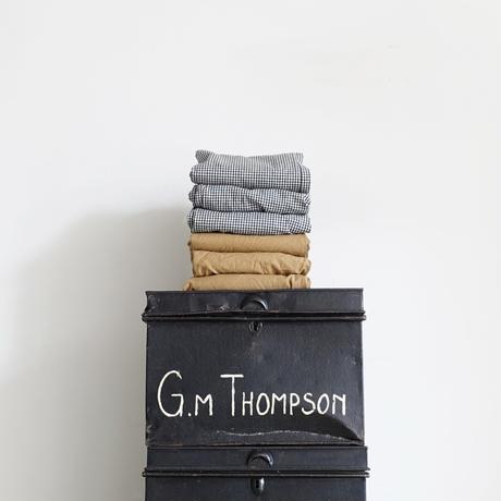 ichi 200331 Cotton Linen Pants / A : BEIGE