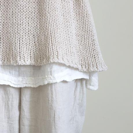 ichiAntiquités 500157 WASHI Knit Pullover / NATURAL