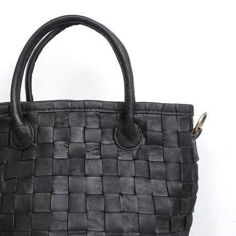 KYUCA KY-0322 Leather 2 Way Tote Bag / 2 COLORS