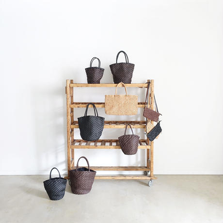 KYUCA  KY0280 Leather Tote  / NATURAL