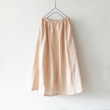 ichi 210125 Linen Skirt / 3 COLORS