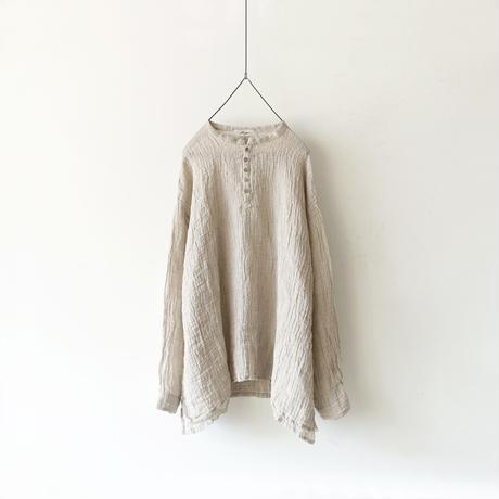 ichiAntiquités 500332 Linen Voile Pullover / NATURAL