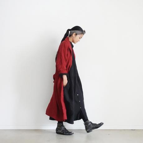 ichiAntiquités 100621 Linen Robe / RED