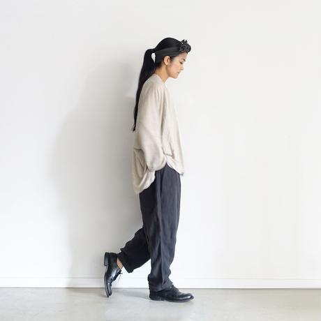 ichiAntiquités 600947 Linen Robe Cardigan / A : NATURAL