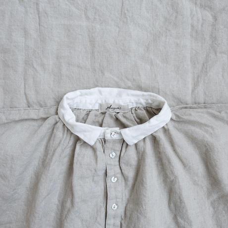 ichiAntiquités 100602 Linen Henly Dress / NATURAL