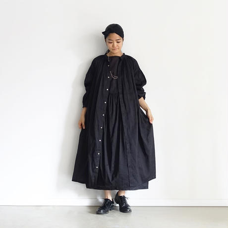 """""""LIMITED COLLECTION"""" i c h i  201028 Volume Gather Dress  / 2 COLORS"""