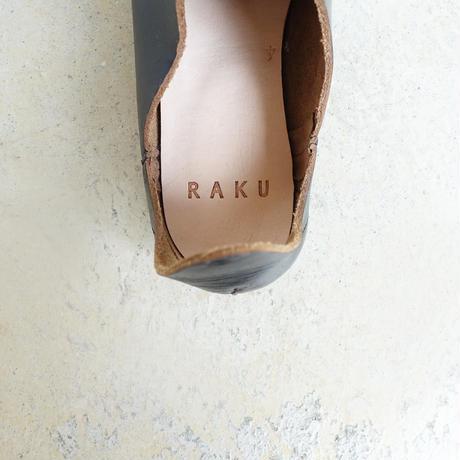RAKU 002 BABUSH FRINGE / BLACK