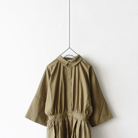i c h i 190121 Cotton Typewriter Shirts Dress