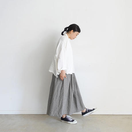ichi 200106 Linen Cotton Skirt / 2 COLOR