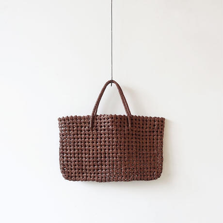 KYUCA  KY0280 Leather Tote  / BROWN