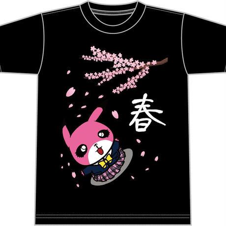【予約開始】ぴぱんくぅ四季限定T-shirt (春ver.)