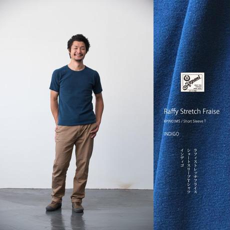 KP9901MS INDIGO / Short SleeveT / インディゴ染Tシャツ