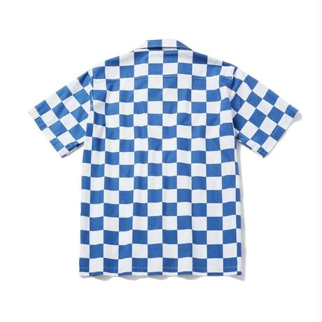 S/S CHECKER FLAG SHIRT