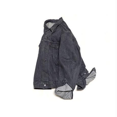 【リーバイス】 カナダ製 ブラックデニムジャケット 70505 ビッグサイズ! 稀少