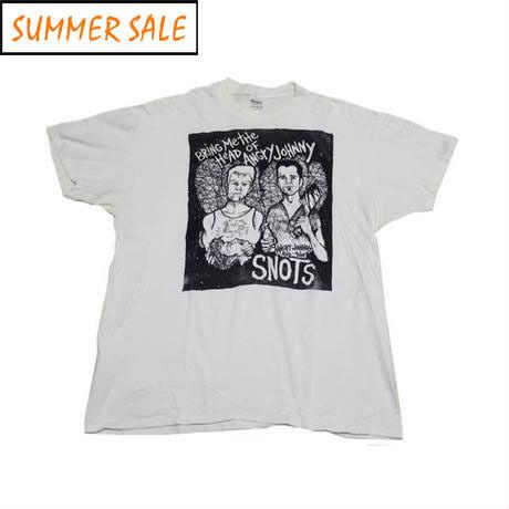 【アングリージョニー アンド ザ スノッツ】 90s バンドTシャツ XLサイズ 超稀少!